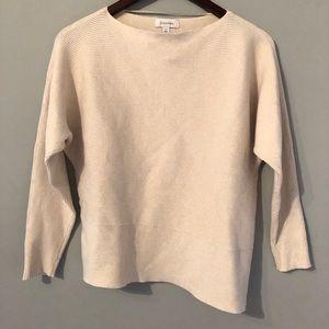 Calvin Klein Cream Sweater - size small